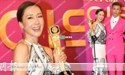 Selena Lee pointed Joel Chan deserved to win Most Popular Male Character Award