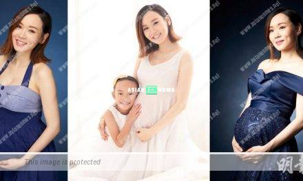Shirley Yeung remains skinny when taking a photo album with her daughter
