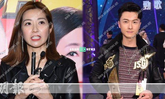 Vincent Wong won two music awards; Yoyo Chen said there was no time for celebration