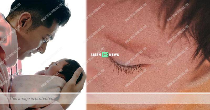Chau Pak Ho's daughter is a little beauty with long eyelashes