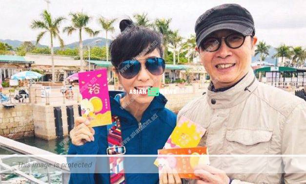 70-year-old Damian Lau looked energetic when going for hiking with Michelle Yim