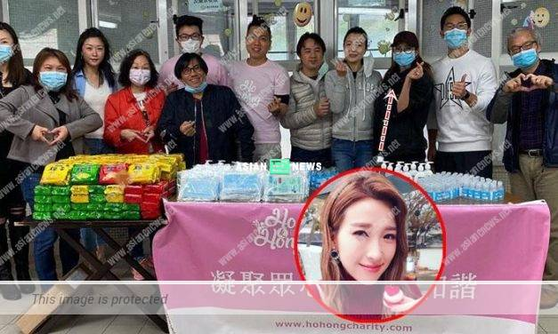 Bravo to Elaine Yiu giving away free necessities to needy people