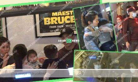 Eliza Sam's son Jacob did not wear any face mask while having dinner at the Central