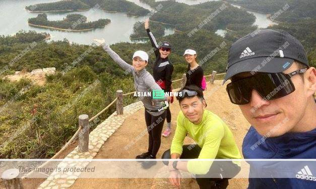 Nancy Wu, Benjamin Yuen and Joel Chan went for hiking together
