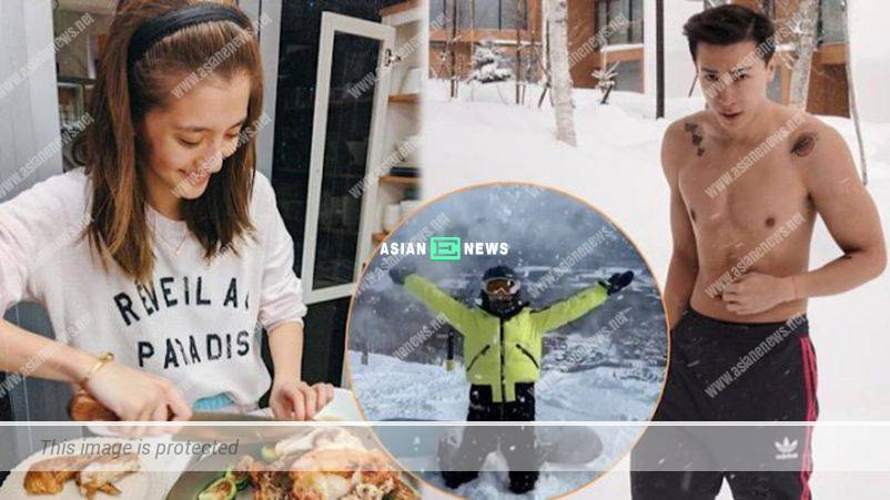 Is Karena Ng cooking for her wealthy boyfriend after her Hokkaido trip?