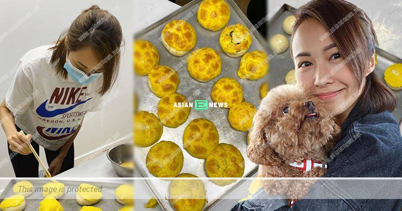 Kathy Yuen baked pineapple buns and won compliments from Grace Chan