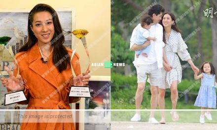Linda Chung won two awards after making a comeback to show business