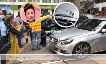 Liza Wang knocked onto a truck and was willing to pay for the compensation