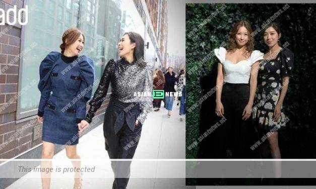 Mandy Wong and Candice Chiu attended fashion show in New York for their first time