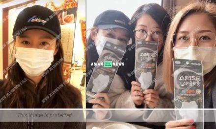 Natalie Tong felt happier to receive face mask than red packet
