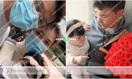 Wuhan Virus: Ruco Chan and his family wore face masks when going out