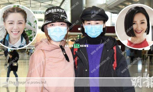 Samantha Ko and Roxanne Tong went for a vacation in overseas together