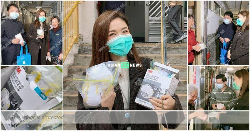 Bravo to Selena Lee for giving face masks to the elderly people