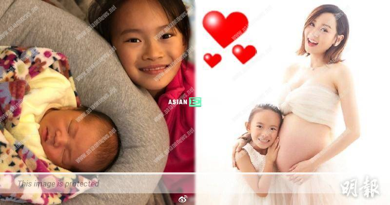 """Shirley Yeung gave birth to a baby boy: Please call me """"piggy"""""""