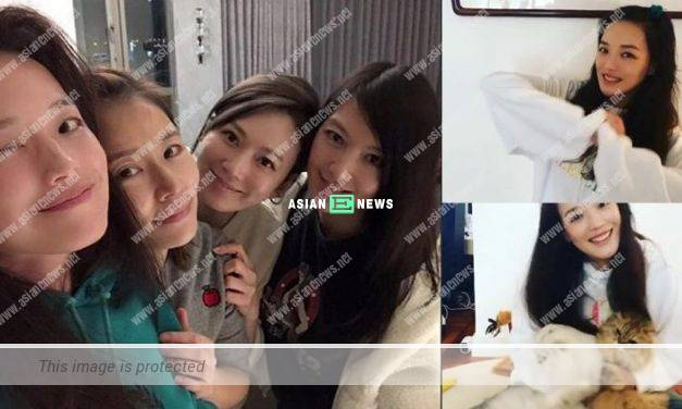 Shu Qi and Ruby Lin showed their natural beauty during the gathering