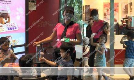 Aimee Chan took her children to buy ice-cream