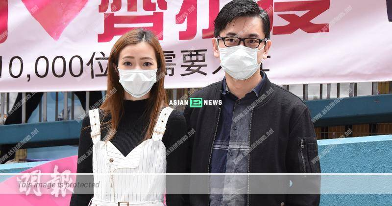 Charmaine Li's work was suspended; Ricky Fan continued his social activities