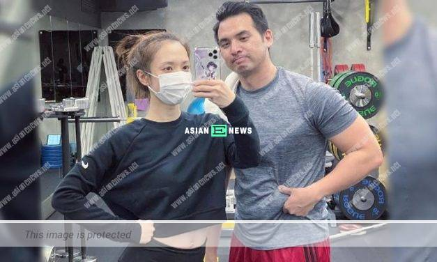 Grace Wong remains fit and her husband gains weight