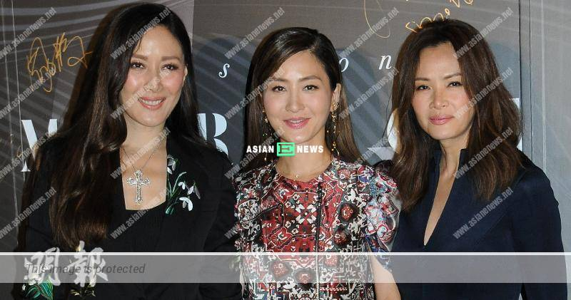 Qi Qi and Janet Ma rejected to reply about the extra-marital affair of Kathy Chow's husband
