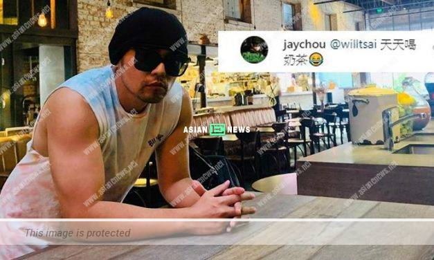 Jay Chou has a muscular body because of drinking milk tea?