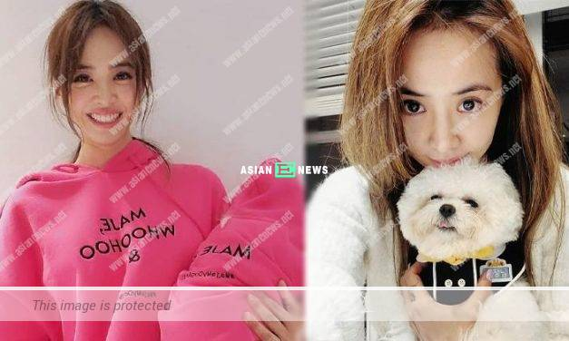 Muddle-headed Jolin Tsai mistook bleaching water as hand sanitiser