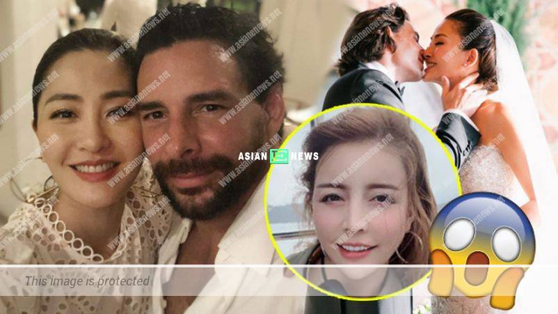 An extra-marital affair? Kathy Chow's husband kissed a foreign woman passionately