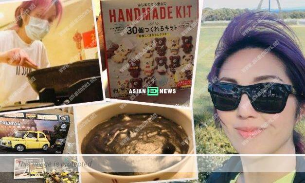 Busy Miriam Yeung baked cookies and cooked black sesame soup during her quarantine period