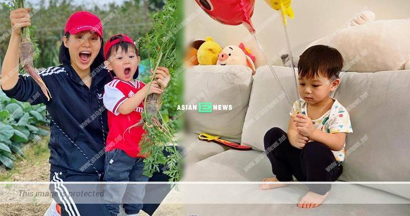 Myolie Wu's son, Brendan felt bored staying at home