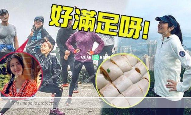 Natalie Tong went for hiking and urged the public to support local food businesses