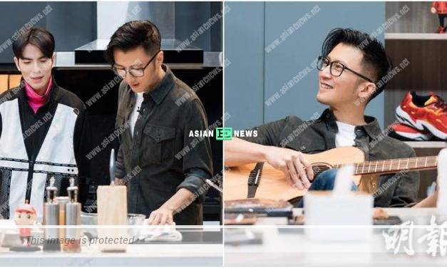 Nicholas Tse transformed into Chef Lemon and cooked dinner for the staff