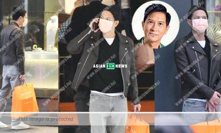 Nick Cheung bought a laptop alone at the Central