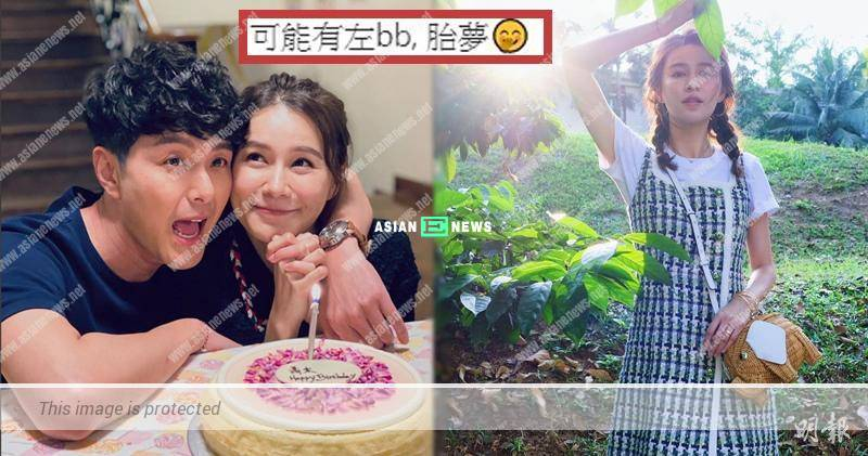 Priscilla Wong dreamed of a treasure; The netizen pointed she might be expecting
