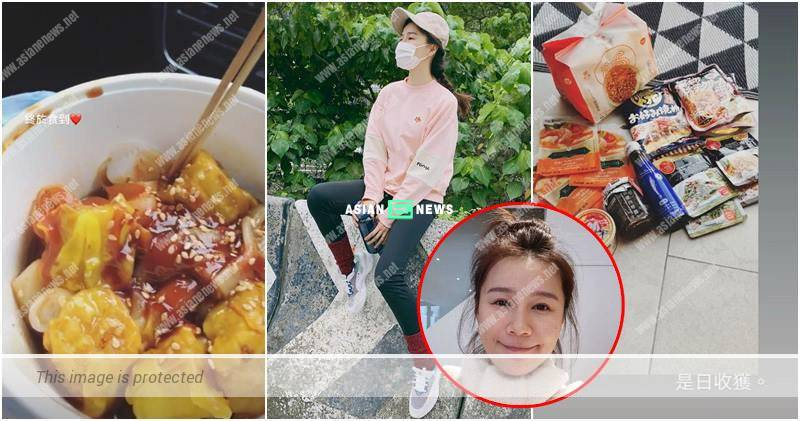 Priscilla Wong transforms into a culinary goddess after buying many sauces?