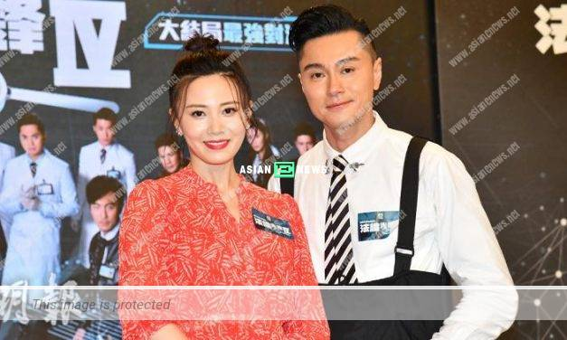 Forensic Heroes IV drama: Raymond Wong looked forward to the sequel and Rebecca Zhu felt complicated