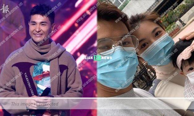 Ruco Chan felt unhappy when his daughter treated him as a stranger