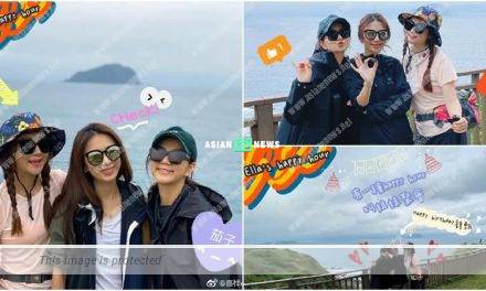 Hebe Tien turned 37 year old; S.H.E group members went for hiking as celebration