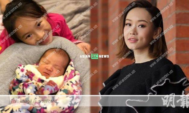 Shirley Yeung praised her daughter helped to look after her little brother at home