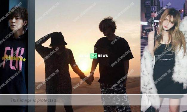 Show Luo and his girlfriend Grace Chow have broken up?