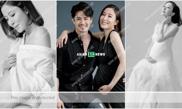 Congratulations! Tavia Yeung is expecting a baby girl