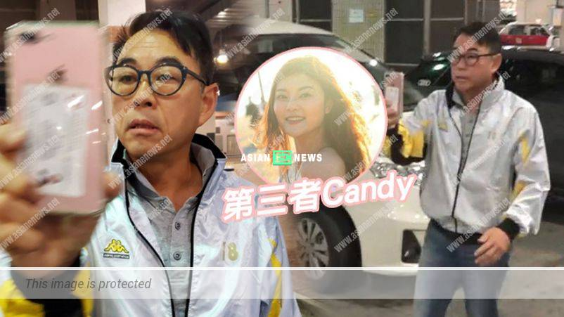 Former TVB actor Andy Tai had an extra-marital affair; He lashed at the reporters