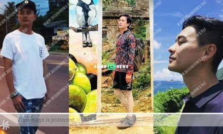 Bosco Wong shows his new hairstyle and goes for hiking
