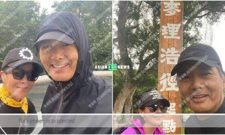 Carina Lau and Chow Yun Fat went for hiking again: It is the most effective beauty treatment