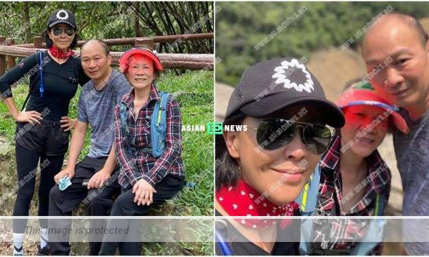 Carina Lau and her mother go for hiking: Sometimes this is what you need