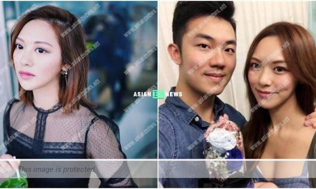 Crystal Fung defends and gives her blessings to her old love