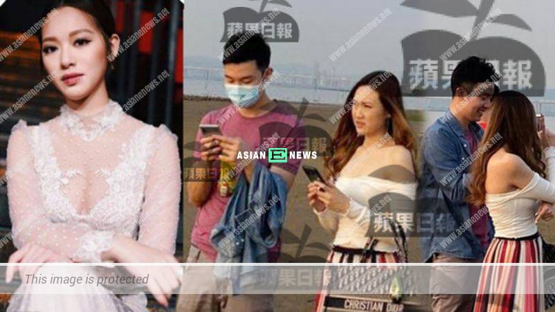 Crystal Fung's ex-boyfriend, Martin took his new love to watch sunset