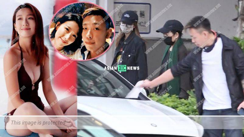Elaine Yiu had a secret meeting with her old love, Raymond Young
