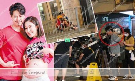 Lack of hygiene? An actor sat outside the public toilet; Him Law cleaned himself after the shooting