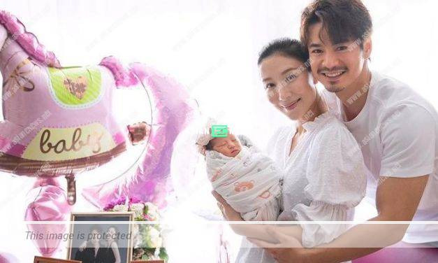 "40-year-old Tavia Yeung gives birth to a baby girl nicknamed ""little pearl"""