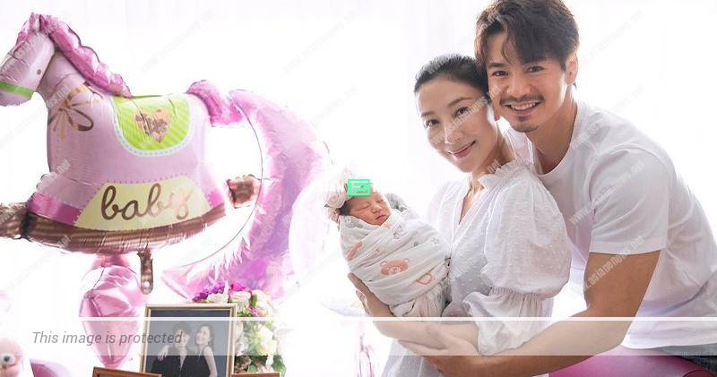 """40-year-old Tavia Yeung gives birth to a baby girl nicknamed """"little pearl"""""""