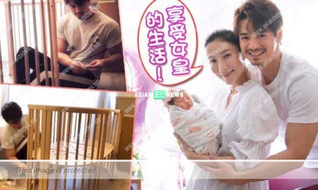 "Tavia Yeung is treated as a ""queen""; Him Law builds baby cot personally"